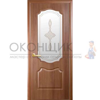 """Дверь НОВЫЙ СТИЛЬ """"ВЕНЗЕЛЬ-МС"""" """"Золотая ольха"""""""