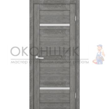 """Дверь ПЕТРОВСКИЕ ДВЕРИ """"МАССИВ 2СМ"""" """"Шале серебро"""""""