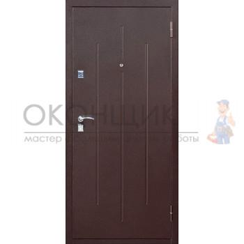 """Входная дверь СТРОЙГОСТ """"7-2"""" """"Белый клен"""""""