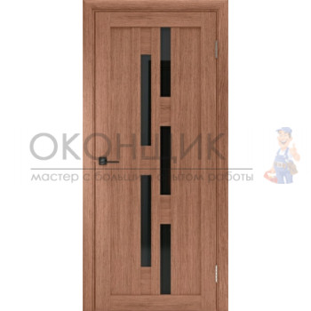 """Дверь ДЕРА """"Модель 613-ЛЧ"""" """"Шимо темный"""""""