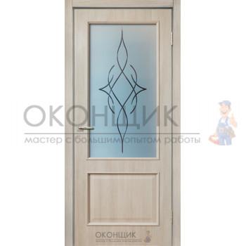 """Дверь ДЕРА """"Модель 320-ВЗ"""" """"Шимо светлый"""""""