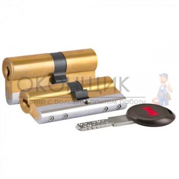 """Цилиндровый механизм KALE KILIT 164 CEC/68 (26/10/32) """"Латунь"""" ключ-ключ"""