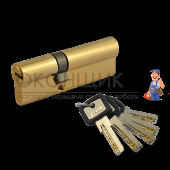 "Цилиндровый механизм НОРА-М ЛПУ 70 (40/30) PB ""Латунь"" ключ-ключ"