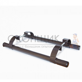 Ручка офисная прямая 500 мм коричневая