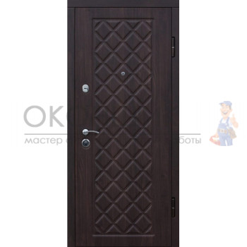 """Входная дверь КАМЕЛОТ """"Беленый дуб"""""""