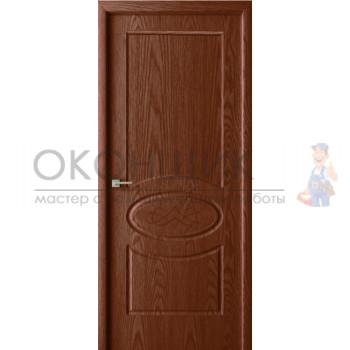 """Дверь ВДК """"ОРИОН 2 ДГ"""" """"Дуб Филадельфия коньяк"""""""