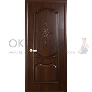 """Дверь НОВЫЙ СТИЛЬ """"РОКА-ГЛ"""" """"Каштан"""""""