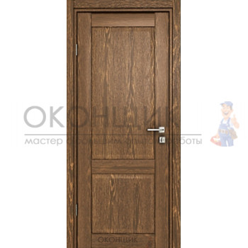 """Дверь ДЕРА """"Модель 341-ГЛ"""" """"Коньяк"""""""