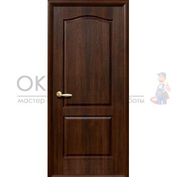 """Дверь НОВЫЙ СТИЛЬ """"КЛАССИК-ГЛ"""" """"Орех премиум"""""""