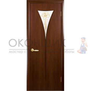 """Дверь НОВЫЙ СТИЛЬ """"БОРА"""" """"Орех 3d"""""""
