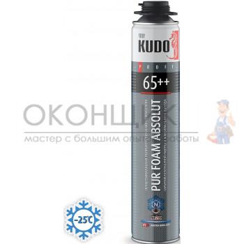 Монтажная пена KUDO ABSOLUT PROFF 65++ ARKTIKA NORD (зимняя)