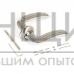Ручка АЛЛЮР на круглой розетке АРТ ФОСТЕР SN/CP (хромир. никель)