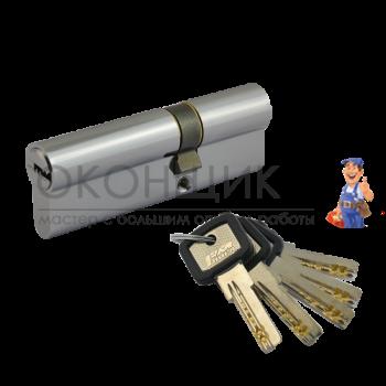 "Цилиндровый механизм НОРА-М ЛПУ 70 (40/30) PC ""Хром"" ключ-ключ"