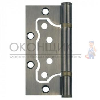 """Универсальная дверная петля без врезки (бабочка) ARSENAL 100*75*2.5 2BB BN """"Черный никель"""""""