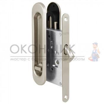 Ручка с замком для раздвижных дверей PUNTO Soft LINE SL-011 SN