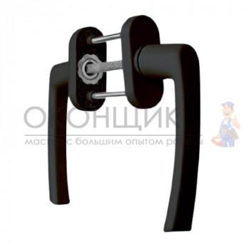 Ручка балконная AXOR BHS-4 коричневая