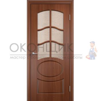 """Дверь ВЕРДА """"НЕАПОЛЬ 2-ДО"""" """"Итальянский орех"""""""