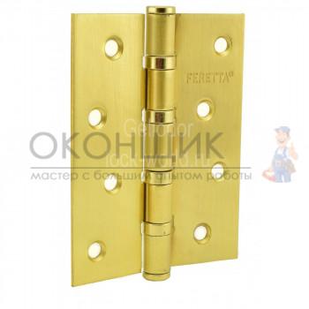 """Универсальная дверная петля FERETTA F 500 S-4 C SB """"Матовое золото"""""""