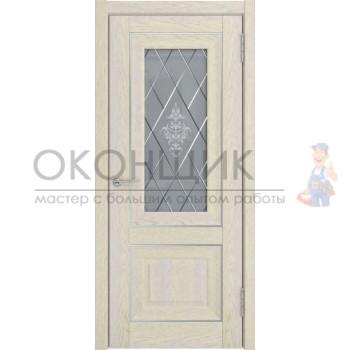 """Дверь ТЕРРИ """"Модель 62"""" """"Дуб айвори"""""""