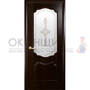 """Дверь НОВЫЙ СТИЛЬ """"ВЕНЗЕЛЬ-МС"""" """"Каштан"""""""