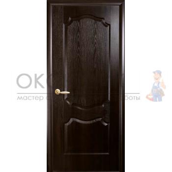 """Дверь НОВЫЙ СТИЛЬ """"ВЕНЗЕЛЬ-ГЛ"""" """"Каштан"""""""