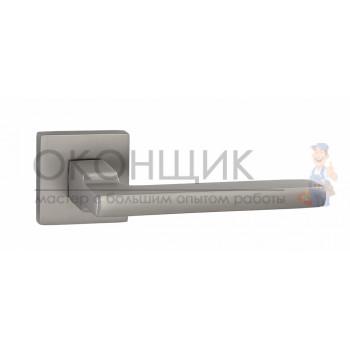 Ручка PUERTO на квадратной розетке INAL 514-03 MSN (никель супер матовый)