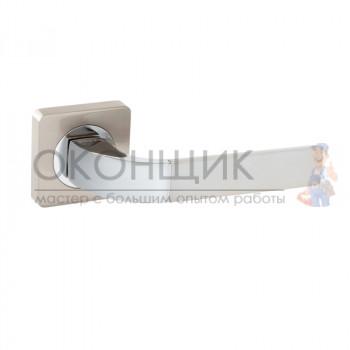 Ручка FERRE на квадратной розетке R06.170 SN/CP (сатин/хром)