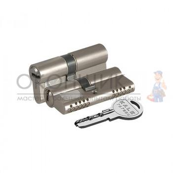 "Цилиндровый механизм KALE KILIT 164 OBS SNE/80 (35/10/35) ""Никель"" ключ-ключ"