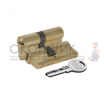 """Цилиндровый механизм KALE KILIT 164 OBS SNE/90 (35/10/45) """"Латунь"""" ключ-ключ"""