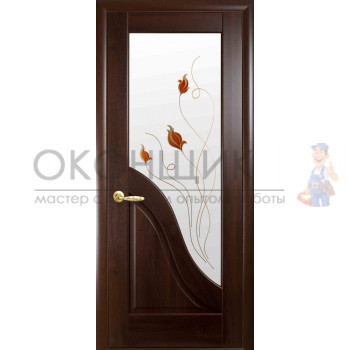"""Дверь НОВЫЙ СТИЛЬ """"АМАТА"""" """"Каштан"""""""