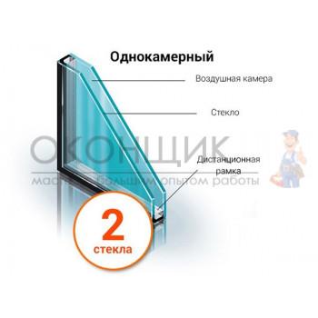 Стеклопакет СПО-32 размер 629х1305 мм.