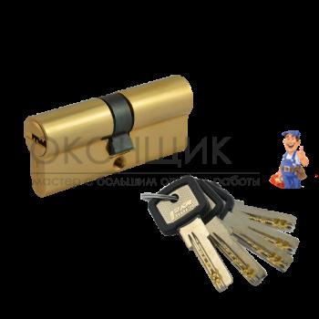 "Цилиндровый механизм НОРА-М ЛПУ 70 (35/35) PB ""Латунь"" ключ-ключ"