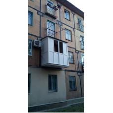 Французский балкон с нуля