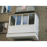 Французский балкон с расширением