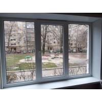 Откосы из сендвич-панелей. Замена старого окна.