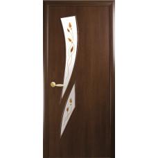 """Дверь НОВЫЙ СТИЛЬ """"КАМЕЯ"""" """"Орех 3d"""""""