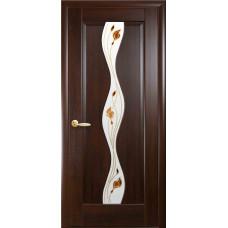 """Дверь НОВЫЙ СТИЛЬ """"ВОЛНА"""" """"Каштан"""""""