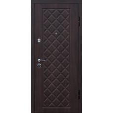 """Входная дверь КАМЕЛОТ """"Вишня темная"""""""