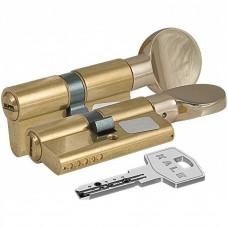 "Цилиндровый механизм KALE KILIT 164 BM/100 (40/10/50) ""Латунь"" ключ-вертушка"