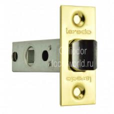 """Дверная защелка LAREDO  6.45 PB """"Золото"""""""