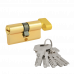 "Цилиндровый механизм НОРА-М 70 ECO Z (35/35) PB ""Латунь"" ключ-вертушка"