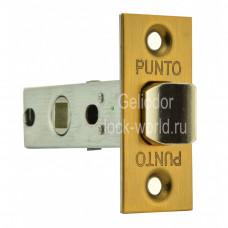 """Дверная защелка PUNTO L 45-8-CF """"Кофе матовый"""""""