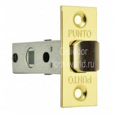 """Дверная защелка PUNTO L 45-8-SG """"Матовое золото"""""""