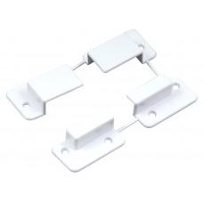 Крепление типа карман для москитной сетки система 10*20 пластиковое белое