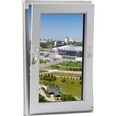 Одностворчатое поворотное-откидное окно PLAFEN C-LINE® (AXOR)