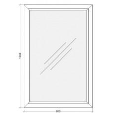 Одностворчатое глухое окно PLAFEN C-LINE®