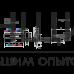 """Цилиндровый механизм НОРА-М ЛПУВ 80 (40/40) PC """"Хром"""" ключ-вертушка"""