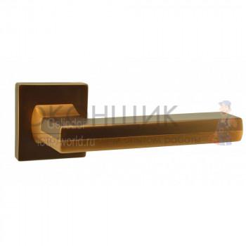 Ручка ARMADILLO на квадратной розетке GROOVE USQ-5-BB-SBB-BB