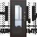"""Входная дверь ГАРДА """"АМПИР"""" """"Венге"""""""