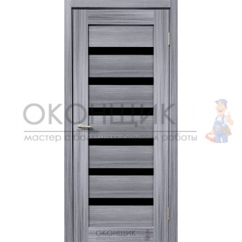 """Дверь ДЕРА """"Модель 643-ЛЧ"""" """"Сандал серый"""""""